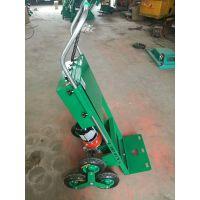 6轮电动装修工具材料爬楼车 搬家公司重物楼梯搬运车