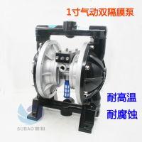 台湾速豹A31气动隔膜泵 1寸 铝合金双隔膜泵油漆泵混合搅拌泵