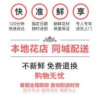 红玫瑰情人节99朵七夕花束礼盒生日鲜花速递同城重庆上海成都送花