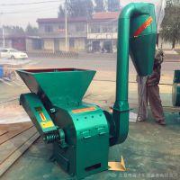 养殖场秸秆粉碎机 沙克龙粉碎机价格 绞龙式草粉机