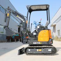 进口液压动力挖掘机微型 什么活都能干的小型挖掘机价格图片