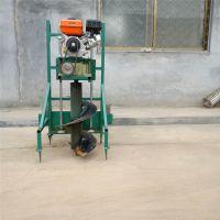 2冲程便携式植树打坑机 果树施肥挖坑机 大棚埋桩机
