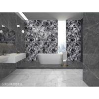 创意家居铺贴750x1500mm大板应用加西亚瓷砖