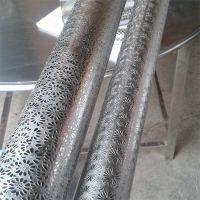 不锈钢立体蚀刻专业加工 金属蚀刻花纹管定制 工厂直供可来图来样定制