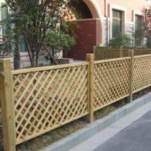 新疆全疆定做防腐木围栏,栅栏,篱笆围栏等设计