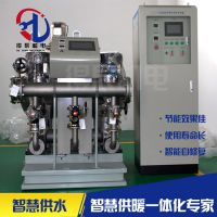 厂家直销卫生级不锈钢无负压供水设备 生活供水泵房供水设备安装