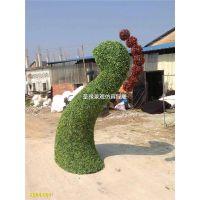动物植物造型绿雕公园园林景观主图美化 仿真孔雀头绿雕孔雀绿雕