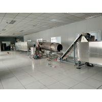 膨化食品生产线设备、夹心米果生产线设备 、双螺杆膨化机