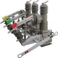 榆林现货供应10kv高压户外真空断路器ZW32-12型 高压电网配电专用柱上断路器