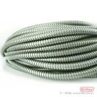 Driflex热镀锌穿线管 穿线专用金属软管 天津厂家供应单勾P3线缆保护裸管