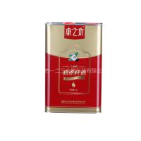 3L菜籽油罐 葡萄籽油马口铁罐 山茶油铁罐定制 方形油罐包装设计