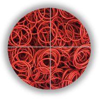 亲涵硅胶O型圈批发_彩色硅胶O型圈定制