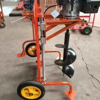 优质耐用小型手提式地钻机 汽油动力植树挖坑机 果施肥刨穴机