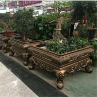 威海复古工艺盆景 钢筋混凝土预制盆景盆价格