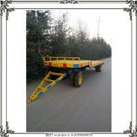欧能工矿用平板拖车牵引车 后置平板运输车厂家可定制