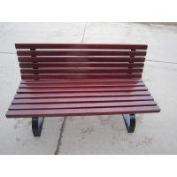 厂家直销甘肃陕西山西户外钢木园艺休闲椅公园椅防腐木户外休闲椅