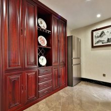长沙私人原木定制工艺流程、原木酒柜、书柜门订做十年品质