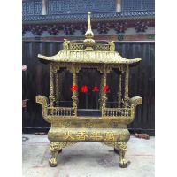 生铁长方形带盖香炉,寺院道院宗祠旅游景区香炉供应商