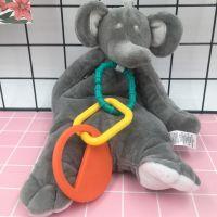 婴儿安抚巾毛绒玩具玩偶可入口咬磨牙胶安抚宝宝口水巾0-1岁睡眠