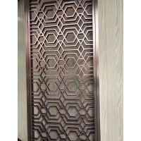 酒店不锈钢装饰工程丨仿古屏风定做,包边板材配料