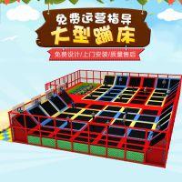 淘气堡排行 济宁蹦床儿童乐园互动 木质儿童滑梯