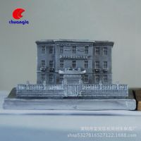 树脂房子建筑物 逸夫楼 定做中式香港大学楼房实景