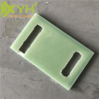 水绿色树脂玻纤板 研磨加工耐温纤维板 热销供应