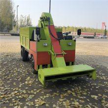 柴油发动机清粪车 多功能牛棚内清粪运输车