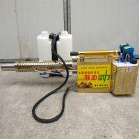 澜海 新款双管弥雾机 养殖场着药面均匀的背负式烟雾机