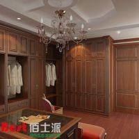 厂家定制 多种风格整体橱柜衣柜 家用板式实木衣柜