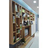 全铝木色焊接酒柜、书柜供应订制厂家