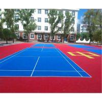 专业生产室外篮球运动地板悬浮式拼装地面塑料户外运动场防滑地板