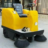 美卓机械热销吉林驾驶式扫地机小型座驾全自动清扫设备喷水吸尘一体式清扫机