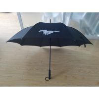 超大碳纤维骨架高尔夫伞、超强防风伞架