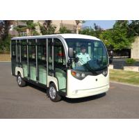 14人座封闭式电动观光车,全封闭式透明游览电动观光车