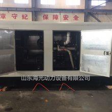 200千瓦上柴静音式柴油发电机组低分贝柴油机