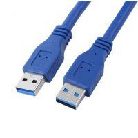 沃斯威USB3.0数据线公对公 高速扁平移动硬盘数据连接线1米1.5米