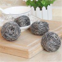 厨房不锈钢清洁球 永不生锈洗碗刷锅碗超强去污钢丝球批发
