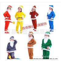 儿童七个小矮人与白雪公主圣诞节表演服装 幼儿园圣诞老人演出服