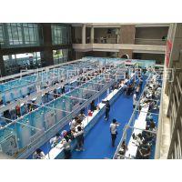 广州邦威高端展会制作厂家 户外活动展架制作 标准展架现场安装