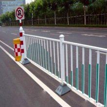 道路隔离栏规格 鲁恒 城市道路隔离栏图片 道路隔离栏配件