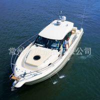 全铝甲板国产小型游艇出售,配置好价格低活动空间足