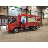山东济宁随车吊生产厂家 全新配置 蓝牌3.2吨凯马随车吊