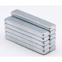 长条形N45强力钕铁硼磁铁块组件 强性长方形防水磁铁批发