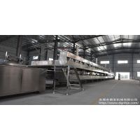 供应泡芙生产线 燃气烤炉 食品机械