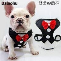 小狗狗猫咪胸背带牵引绳中小型犬泰迪法斗链子绳子背心式宠物用品