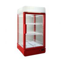杭州欧朗90升超市饮料暖柜热罐促销柜