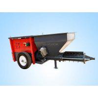 柴电两用自动喷砂 小型水泥砂浆 螺杆式 墙面多功能砂浆喷涂机