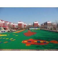 幼儿园塑胶地板万晟地板