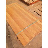柳桉木防腐木厂家定做户外地板厂家定做原木开料价格
